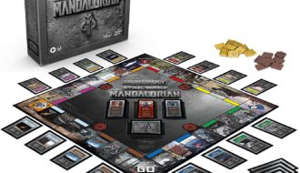 Monopoly: Star Wars The Mandalorian Edition Board Game